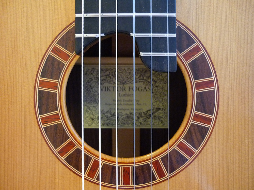 double top concert classical guitar